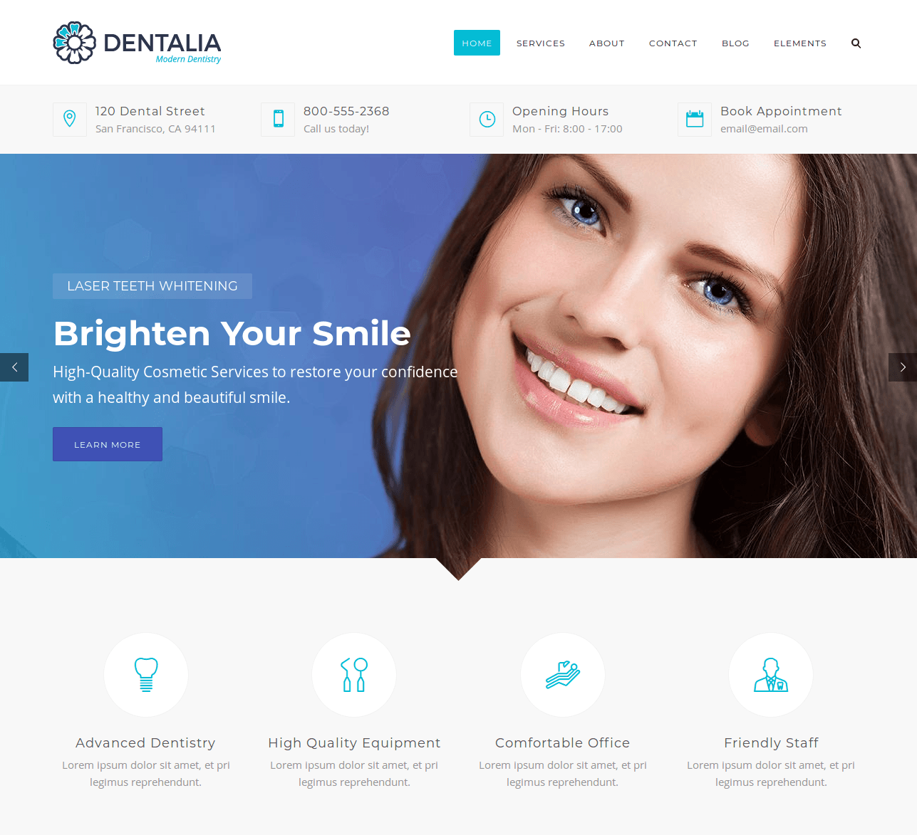 Best WordPress themes for dental practitioners